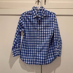 Boys Gingham Check Oxford by Crewcuts (J. Crew)